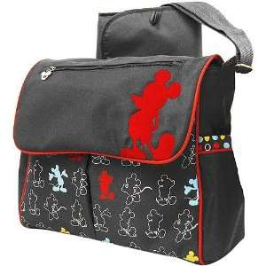 Classic MICKEY Mouse Messenger Diaper Bag Baby