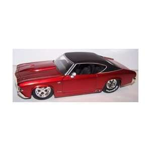 Jada Toys 1/24 Scale Diecast Big Time Muscle 1969 Chevy Chevelle Ss