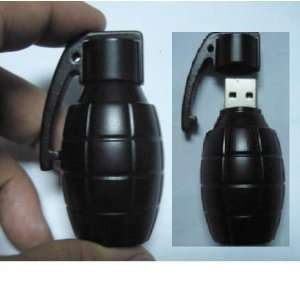 8GB 3D Bomb Shape USB FLASH DIVE 2.0 Gun Flash Drive