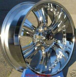 90 Chrome Wheel Chrome Rim Ford 8 lug 8x170 Excursion Expedition F150