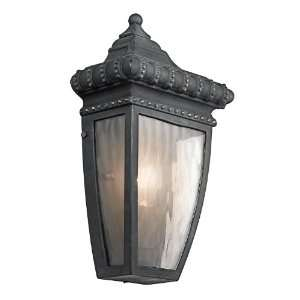 Kichler Lighting Kichler 49130BKG Venetian Rain 1 Light Outdoor Wall