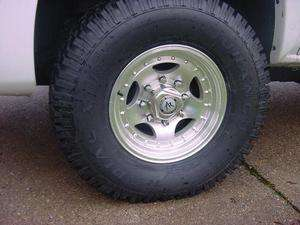 16X7  AMERICAN RACING AR23 CHEVY FORD DODGE WHEELS 8 LUG
