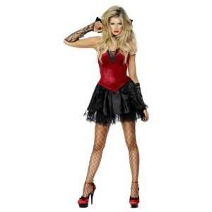 Smiffys Sexy Vampiress Lady Halloween Fancy Dress Costume