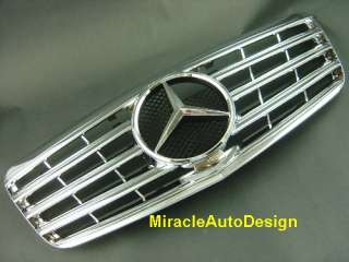Front Grille For 2007 2009 Mercedes Benz (facelift) W211 E Class