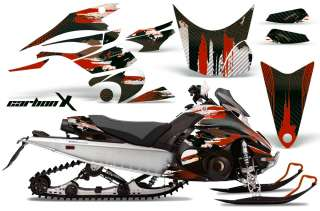 AMR RACING SNOWMOBILE DECAL KIT SLED GRAPHIC KIT YAMAHA FX NYTRO 08 12
