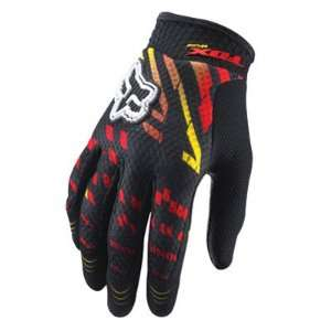 2011 Fox Racing Airline Ryan Dungey Rockstar Replica Gloves   Yellow