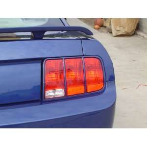 08 09 Ford Mustang Painted Taillight Bezels Satin Silver Paint Code TL