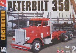 Amt Ertl Peterbilt 359 Semi Trailer 1/25 Scale