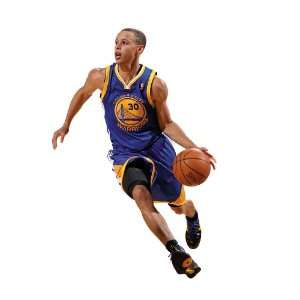 Stephen Curry Golden State Warriors NBA Fathead REAL.BIG