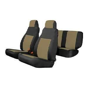 2007 08 JEEP WRANGLER 2 DOOR TAN (NO AIR BAGS) SEAT COVERS Automotive