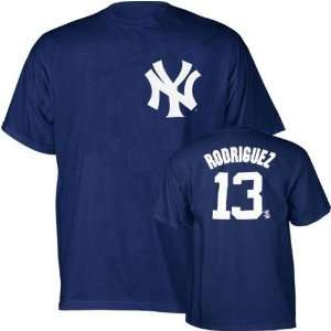 Alex Rodriguez (New York Yankees) Name and Number T Shirt