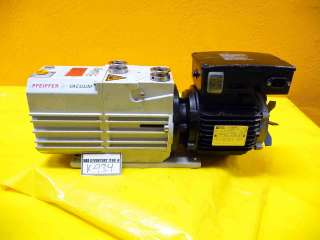 Pfeiffer Vacuum Rotary Vane Pump DUO 10 need rebuild
