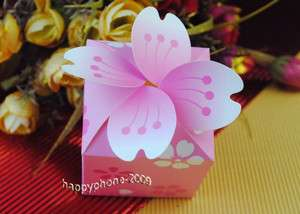 Flower Wedding Favor Candy Gifts Boxes wedding boxes WB20