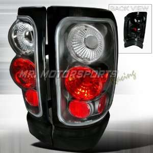 DODGE RAM ALTEZZA TAIL LIGHTS BLACK Automotive