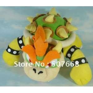 50pcs super mario bros plush toy new 10 cute bowser plush
