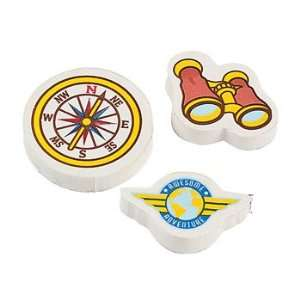 Adventure Erasers   Basic School Supplies & Erasers & Pencil Toppers