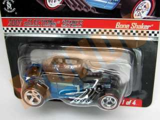 HOT WHEELS RLC 2007 SELECTIONS SERIES SPECTRAFLAME BLUE BONE SHAKER #1