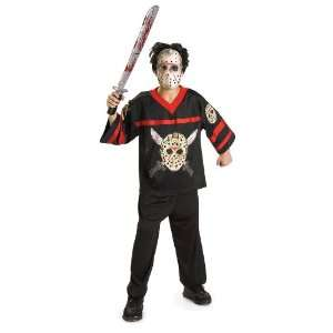Jason Hockey Jersey and Mask Child Costume Toys & Games