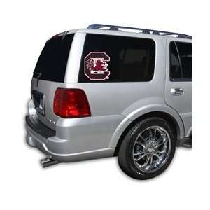 South Carolina Gamecocks USC NCAA Die Cut Window Film Large