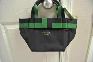 SPADE BARROW STREET MINI ANABEL NAVY/GREEN TOTE BAG PXRU1506
