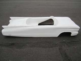 Cadillac pedal car hot rod stroller 1/4 scale fiberglass body rat rod