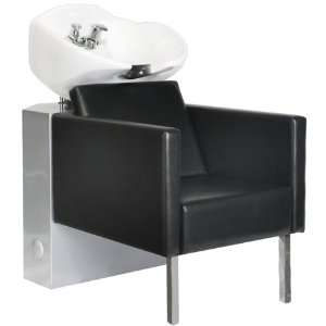 Salon Shampoo Backwash Unit Bowl & Chair SU 53BLK Beauty