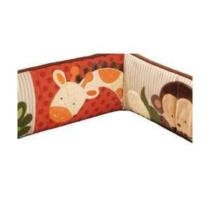 Kidsline Jungle 123 Crib Bumper Baby