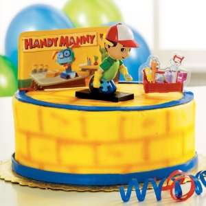 Party By Deco Pac Disney Handy Manny Cake Toppers