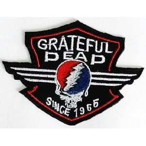 SALE 2.8 x 3.7 Grateful Dead Music Rock Band Biker Clothing Jacket