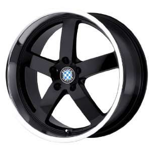 Beyern Rapp Gloss Black Wheel with Machined Lip (18x8.5
