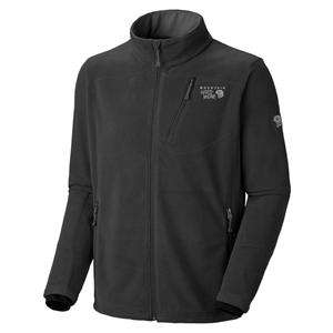 MOUNTAIN HARDWEAR MENS L DEFLECTION FLEECE JACKET BLACK NWT