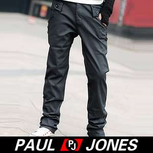 Fashion PJ Men's Long Stylish slim fit Causal Pants Trousers 3Szs