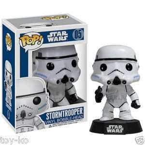 Star Wars Stormtrooper Pop Vinyl Figure Bobble Head