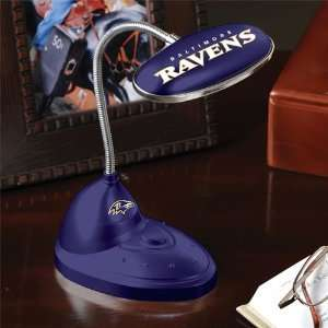 Pack of 3 Officially Licensed NFL Football Baltimore Ravens LED Desk