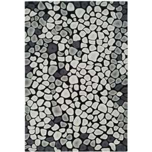 Safavieh Rugs Soho Collection SOH722A 6R Grey/Ivory 6 x 6