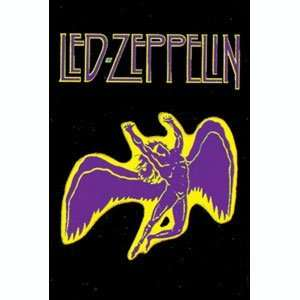 Led Zeppelin Swan Song Fabric Poster Flag