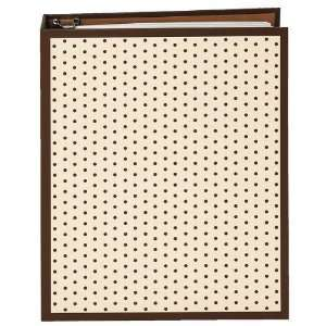 World of Journals Dots Organizer, Brown, 7.25x9 inches