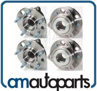 Buick Chevy Pontiac Front Wheel Hub & Bearing Assembly Pair Set