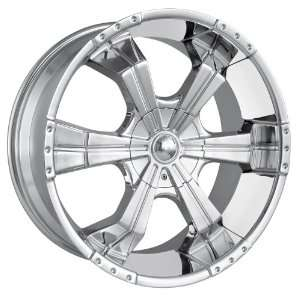 22x9.5 MPW Style MP204 (Chrome) Wheels/Rims 6x135/139.7