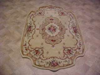 Royal Palace Rug English Country 5x8 Rug Ivory Rug  Rugs