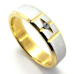 Men Women Gold Silver Love Stainless Steel Ring Size 9