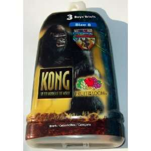 King Kong The 8th Wonder of The World by Fruit of the Loom