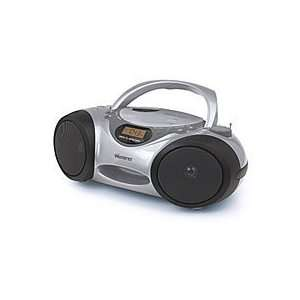 2Xtreme CD Boombox   Silver two tone color.  Players & Accessories