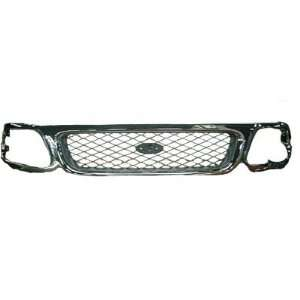 TKY FD07132GB TY5 Ford Truck Chrome Replacement Grille Automotive