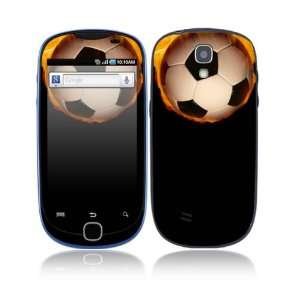Fire Soccer Decorative Skin Cover Decal Sticker for Samsung Gravity