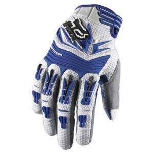 Fox Racing Pawtector Gloves   Small/Blue Automotive