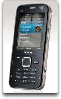 Nokia N78 Unlocked Phone with 3.2 MP Camera, 3G, Wi Fi
