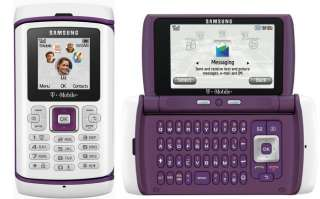 NEW UNLOCKED Samsung SGH T559 Comeback purple AT&T T MOBILE Cell Phone