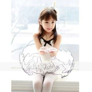 Children Kids Girl Ballet Dancewear Costume Party Princess Style Tutu