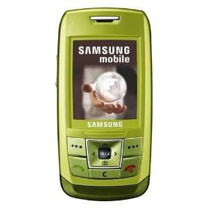 Samsung SGH E250 Unlocked Phone with Camera, Media Player